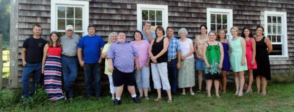 Members of the Bailey Brook Farm family