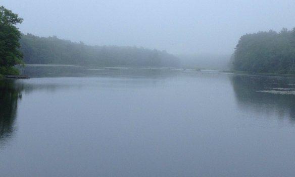 Meadowbrook Pond in Rhode Island