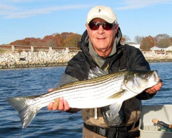 Ed Lombardo on Narrow River 110613