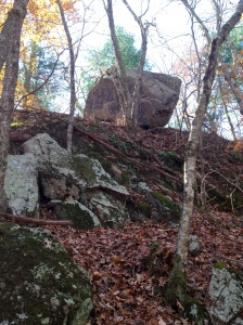 hanging rock